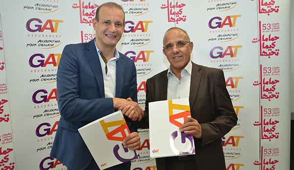 GAT ASSURANCES partenaire officiel de la 53eme édition du Festival International de Hammamet