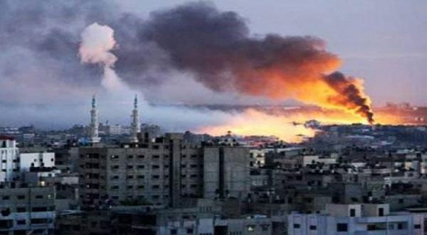 إسرائيل تقصف مناطق في قطاع غزة
