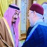 صور حصرية للغنوشي و مورو وهما يقدّمان التعازي لأبناء العاهل السعودي