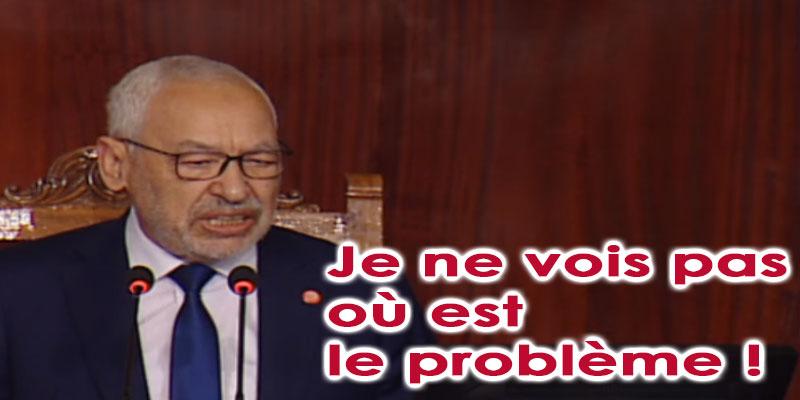 Ghannouchi s'exprime au sujet de sa rencontre avec Erdogan