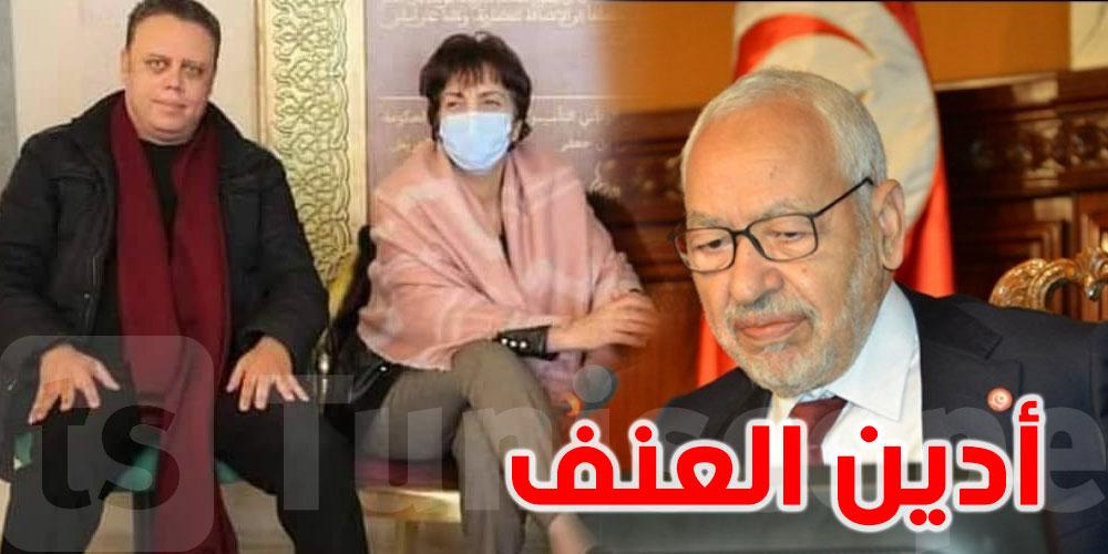 الغنوشي '' نحترم إضراب الجوع الذي تخوضه سامية عبّو''