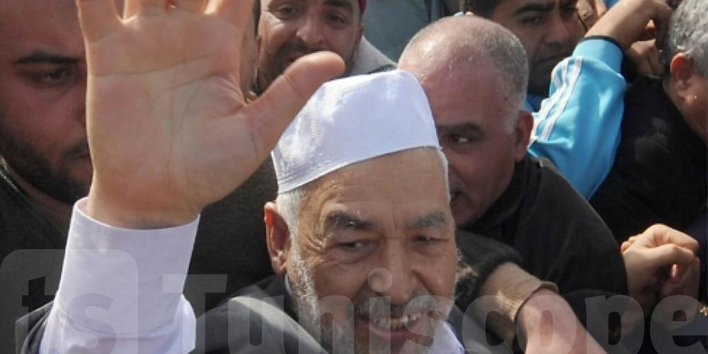 Rached Ghanouchi, opposant et juste proche des islamistes selon France Info