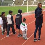 Habiba Ghribi réalise le rêve de sept enfants