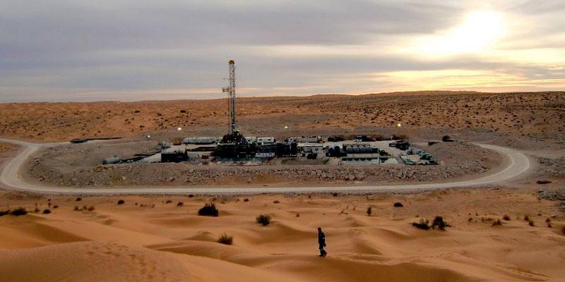 Grève dans les champs pétroliers à Tataouine