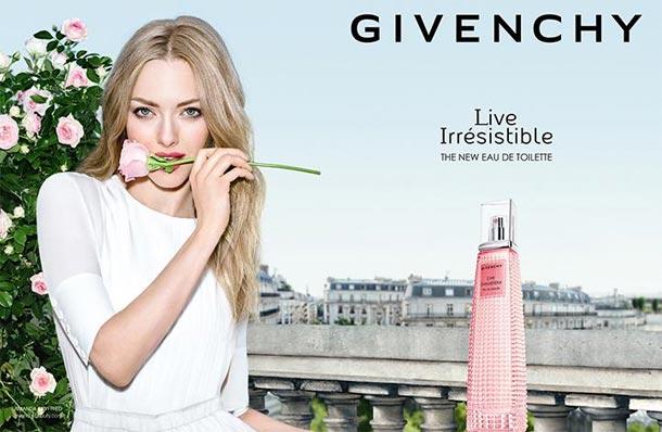 L'eau de Toilette Live Irrésistible de Givenchy, une fragrance pétillante, fruitée et sensuelle...