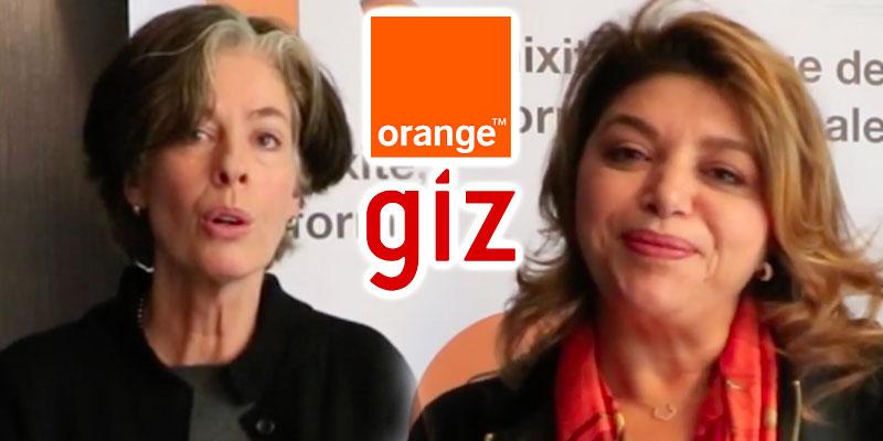 En vidéo : Tout sur le partenariat entre Orange Tunisie et la GIZ