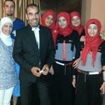En photos : Faouzi Ben Gamra assure l'animation 'halal' dans un hôtel à Hammamet