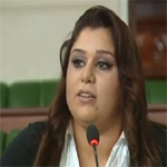 القضاء العسكري يستمع إلى النائبة صابرين القوبنطيني