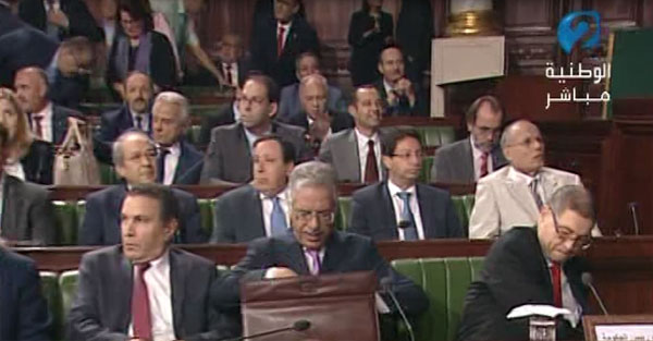 Tous les membres du gouvernement présents aujourd'hui à l'ARP