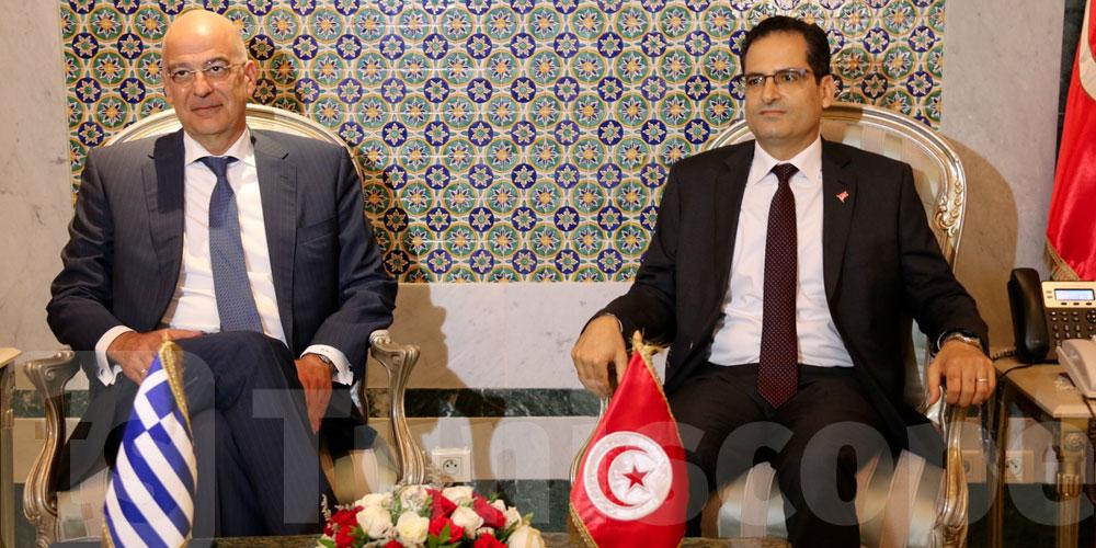 Rencontre tuniso-grèque autour du dossier libyen