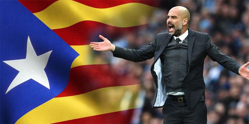 مطالب بترشح غوارديولا مدرب مانشستر سيتي لمنصب رئيس حكومة كتالونيا