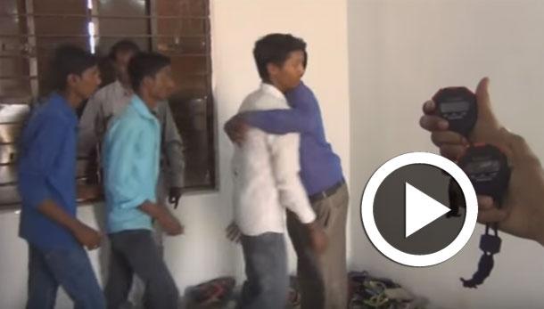 بالفيديو: هندي يدخل موسوعة ''غينيس'' بأكبر عدد من الأحضان