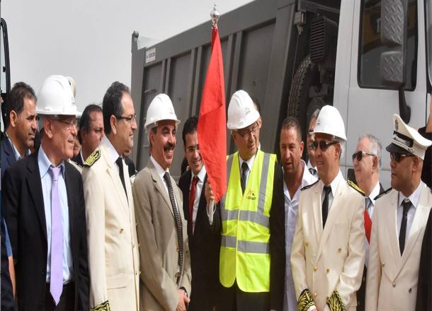رئيس الحكومة يعطي إشارة انطلاق بناء مدينة جديد تتسع لـ60 ألف ساكن بغدير القلة