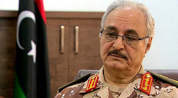 حفتر :أبعدنا جنودنا عن الإخوان