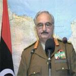Hafter,  pour une opération similaire à 'Tempête décisive en Libye'
