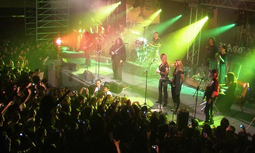 Myrath, le metal progressif tunisien en action !