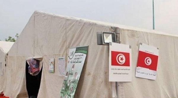 البعثة التونسية للحجّ تتسلم مخيماتها في مشعرعرفة بمكة المكرمة
