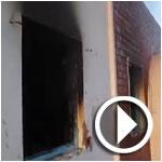 فيديو:منطقة الأمن الوطني بالحامة بعد حرقه
