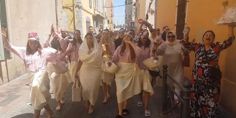 En vidéo : Quand Hammam Laaroussa d'une jeune mariée tunisienne fait le buzz en France