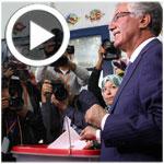 En Vidéo : Entouré de sa femme et de sa fille, Hamma Hammami vote