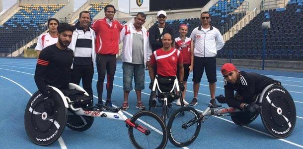 En photos : La préparation des athlètes tunisiens pour les Jeux paralympiques