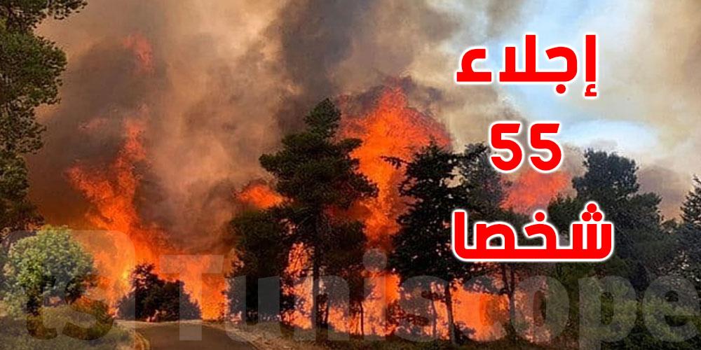 القيروان: اندلاع حريق بالوسلاتية وتعذّر وصول شاحنات الإطفاء لهذا السبب