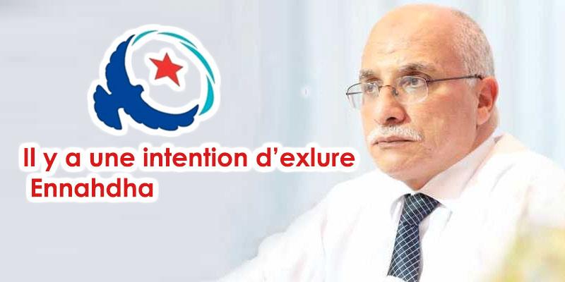 Harouni : Le parti de Chahed fait preuve d'ingratitude envers Ennahdha qui l'avait soutenu