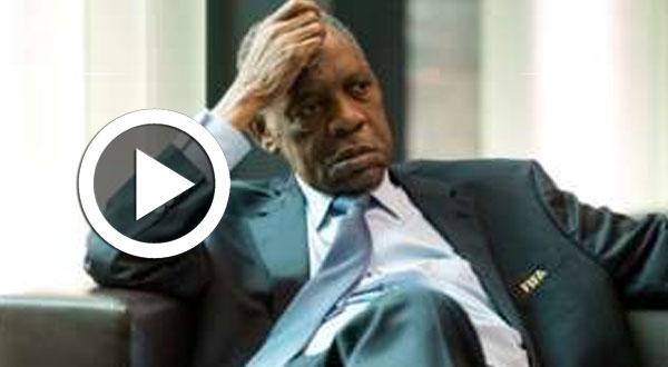 بالفيديو..لحظة إعلان خسارة «عيسى حياتو» لرئاسة الكاف