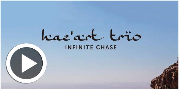 Vidéo : Sortie du premier album ' infinite Chase'  de Haz'Art Trio