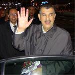 الهاشمي الحامدي يصل إلى تونس