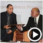 En vidéos : Présentation du projet de création de l'université américaine de Tunis, un méga projet de 200 millions de dinars