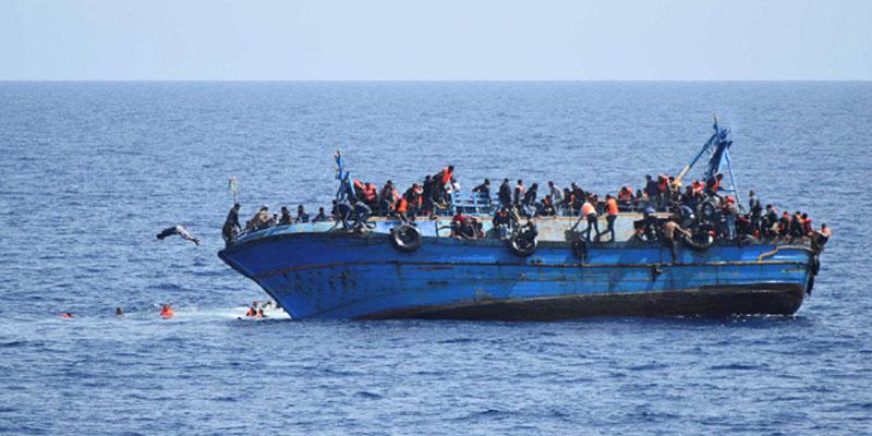 مصرع 45 مهاجرا في غرق قاربهم شمال المغرب