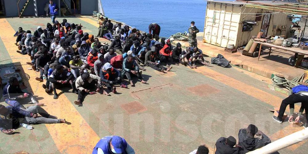 إنقاذ أكثر من 600 مهاجر قبالة السواحل الليبية