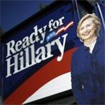 Hillary Clinton dans l'Iowa, passage obligé vers la présidentielle