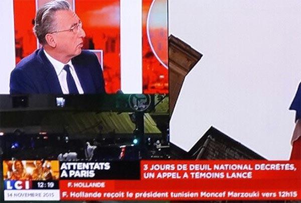 Lapsus sur LCI  : François Hollande reçoit Moncef Marzouki