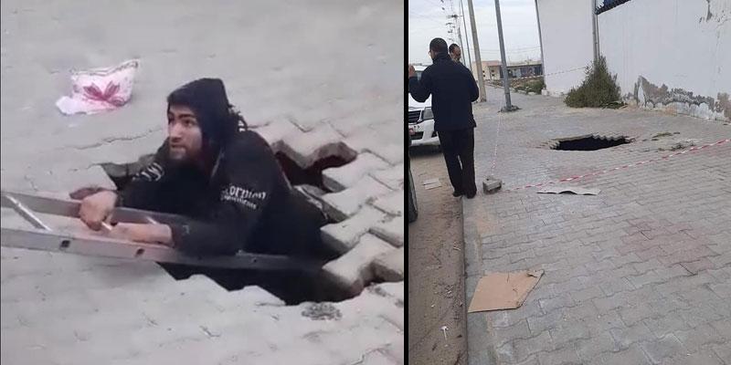 ''يمشي يمشي طاح في حفرة'' فتعرّض لكسور: بلدية القيروان تكشف الأسباب