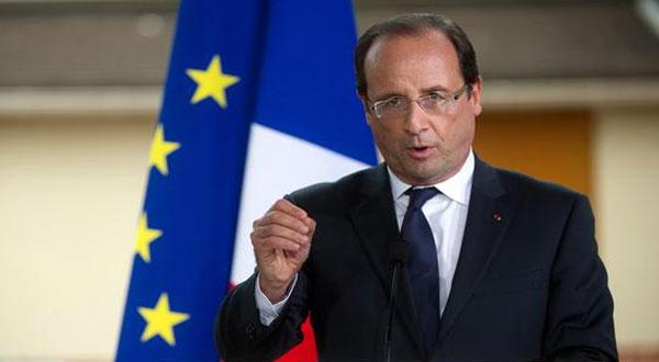 هولاند.. فرنسا لن تكون بلدا لمخيمات المهاجرين