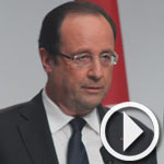 Invité de l'ANC, François Hollande donne un discours