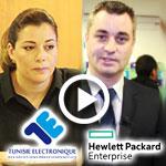 HP et TE fêtent leurs 40 ans de partenariat : Interviews de M. Jean Sébastien Vincent et Mme. Emna Haouala