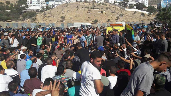 المغرب: الحسيمة تشهد احتجاجات في أول أيام عيد الفطر