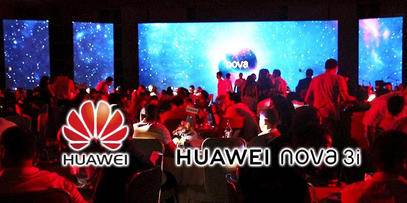 En vidéo : Méga soirée de lancement du Huawei Nova 3 en Tunisie