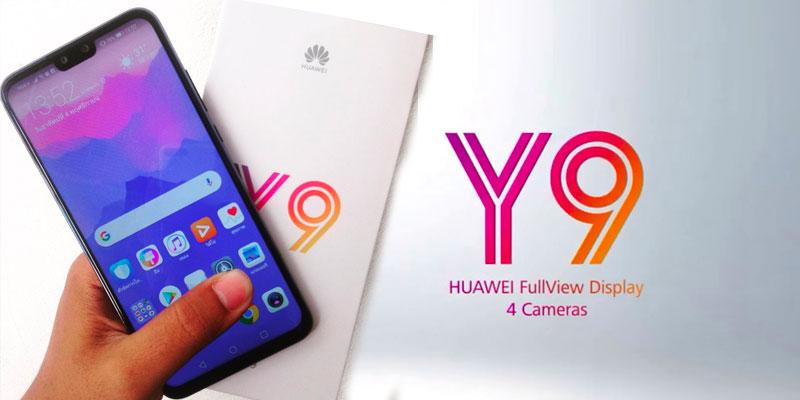 Le Y9 lance la révolution de la gamme Huawei pour 2019