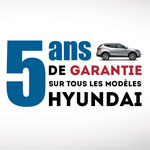 Alpha Hyundai Motor annonce le passage de sa garantie constructeur de 3 ans à 5 ans