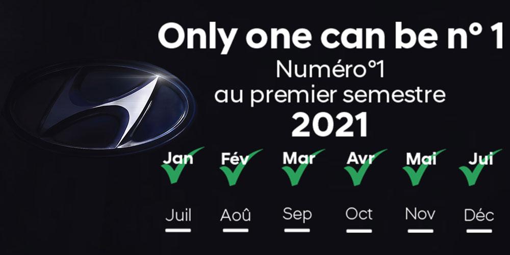 Hyundai, Leader des ventes du marché automobile