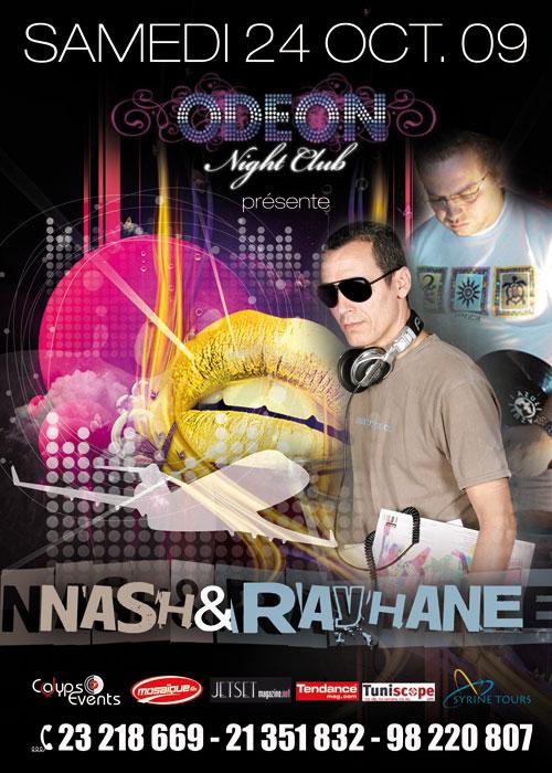 Nash & Rayhane-Samedi 24 Octobre 2009- Odeon Gammarth