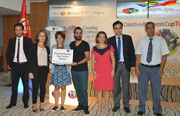 Quatrième édition de la compétition internationale sur l'entreprenariat la Creative Business Cup, organisée par l'IACE