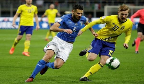 La Suède élimine l'Italie