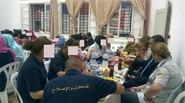 Manouba : Repas d'Iftar au profit des pensionnaires de la Prison des femmes et de leurs familles