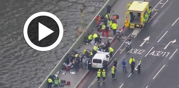 En vidéo- : Les premières images après les coups de feu entendus près du Parlement à Londres