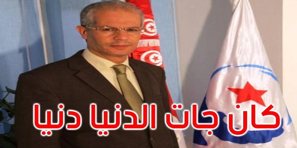 عماد الحمامي: 200 تونسي يموتوا كل يوم ورئيس الحكومة يعدي في الويكاند في الوتيل